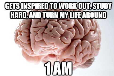 É o TAC da minha vida.