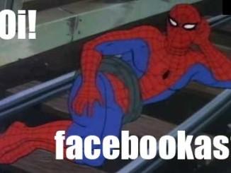homem-aranha promove facebook
