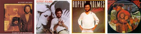 capas discos Rupert holmes