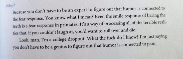 Todd Hanson do The Onion, senhoras e senhores.