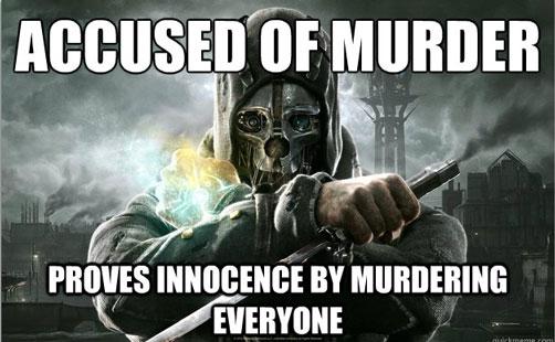 Gosto de jogos que sejam coerentes na sua moralidade.
