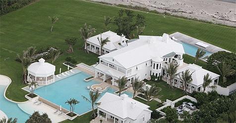 Casa de praia da Celine Dion.