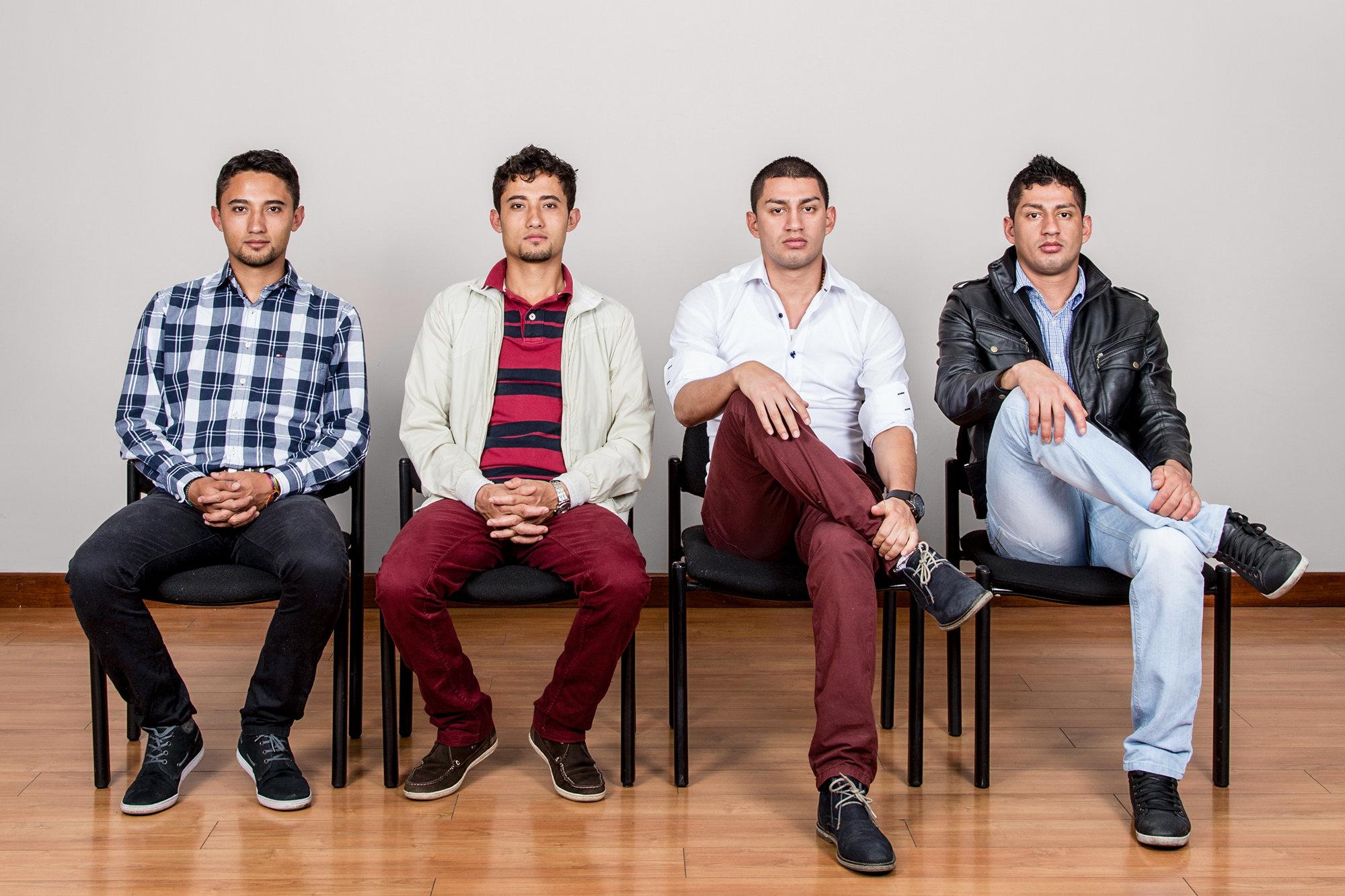 Os gémeos de Bogotá