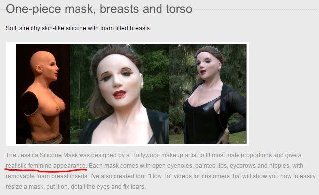 Jessica Silicone Mask