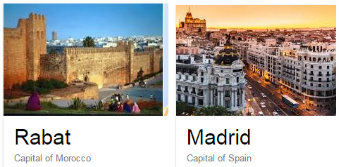 Rabat e Madrid
