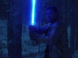 star wars Finn lightsaber