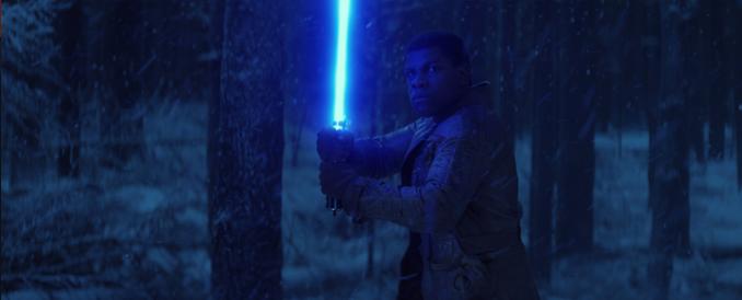 star wars Finn lightsaber