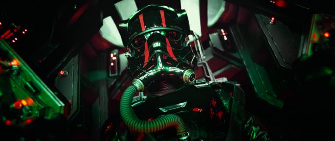 Force Awakens tie fighter pilot