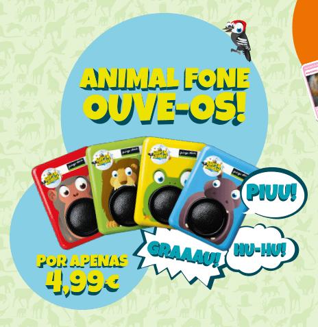 Animal Fone Pingo Doce