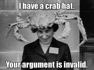 chapéu de caranguejo